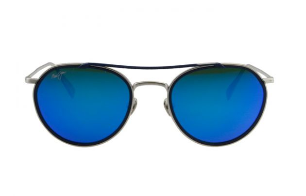 MAUI JIM B555-17M BLUFOLLOWINGSEASSLVRMTTW/DRKNVYRM